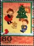 Stamps Japan -  Scott#3386e intercambio 0,90 usd 80 y. 2011