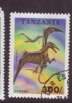 Stamps Tanzania -  dinosaurios