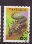 Stamps Africa - Tanzania -  dinosaurios