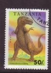 Sellos del Mundo : Africa : Tanzania : Dinosaurios