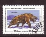 Sellos del Mundo : Africa : Madagascar : Animales prehistoricos