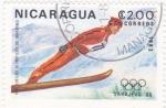 Sellos de America - Nicaragua -  Juegos Olímpicos Sarajevo'84