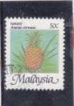 Stamps : Asia : Malaysia :  Ananas (piña)