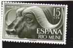 Sellos de Europa - España -  DIA DEL SELLO 1962 RIO MUNI