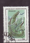 Stamps Africa - Madagascar -  animales prehistoricos