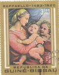 Stamps : Africa : Guinea_Bissau :  pintura de Raffaello