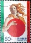 Stamps Japan -  Scott#2765 intercambio 0,40 usd 80 y. 2001