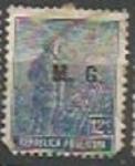 Sellos de America - Argentina -  INTERCAMBIO MINISTERIO GUERRA SCOTT OD51