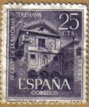 Stamps Spain -  Monasterio de San Jose - AVILA