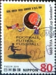 Stamps Japan -  Scott#3236f intercambio 0,90 usd 80 y. 2010