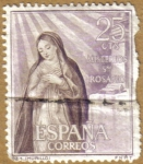Stamps Spain -  MURILLO - La Anunciacion