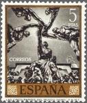 Sellos de Europa - España -  España 1966 1718 Sello ** Pintor José Mª Sert Las Cinco Partes del Mundo Timbre Espagne Spain Spagna