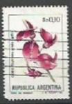 Sellos de America - Argentina -  INTERCAMBIO Serie Flores Pesos Argentinos 0.10 Ceibo SCOTT  1430