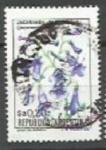 Sellos de America - Argentina -  INTERCAMBIO Serie Flores Pesos Argentinos 0.20 Jacaranda SCOTT 1431