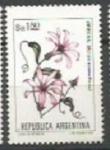 Sellos de America - Argentina -  INTERCAMBIO Serie Flores Pesos Argentinos 1.80 Virreina SCOTT 1435A