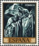 Sellos de Europa - España -  ESPAÑA 1966 1719 Sello Nuevo Pintor José Mª Sert San Pedro y San Pablo