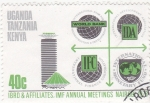 Stamps : Africa : Uganda :  afiliación UGANDA-TANZANIA-KENYA