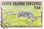 Stamps Kenya -  10º ANIVERSARIO KENYA INDEPENDIENTE