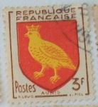 Stamps France -  Aunis
