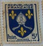 Stamps France -  Saintonge