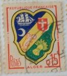 Sellos de Europa - Francia -  Alger