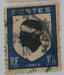 Stamps France -  Corse