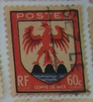 Stamps : Europe : France :  Comté De Nice