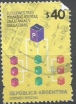 Sellos de America - Argentina -  INTERCAMBIO CATÁLOGO GJ 4018 (2 U$S)
