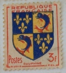 Stamps : Europe : France :  Dauphine