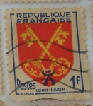 Stamps : Europe : France :  Comtat Venaissin
