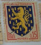 Stamps : Europe : France :  Nevers