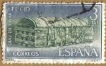 Stamps Spain -  Rodrigo Diaz de Vivar 'EL CID' - Cofre