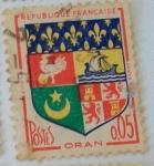 Sellos de Europa - Francia -  Oran