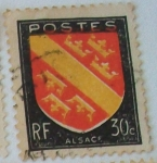 Stamps : Europe : France :  Alsace