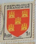 Stamps : Europe : France :  Poitou