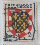 Stamps France -  Turaine