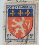 Stamps : Europe : France :  Lyonnais