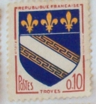 Stamps : Europe : France :  Troyes