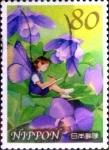sellos de Asia - Japón -  Scott#3304e intercambio 0,90 usd  80 y. 2011