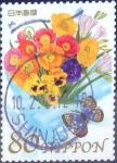 Stamps Japan -  Scott#3192c intercambio 0,90 usd  80 y. 2010