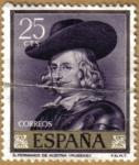 Stamps Spain -  RUBENS - D. Fernando de Austria