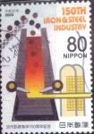 Stamps Japan -  Scott#3078e intercambio 0,55 usd  80 y. 2008