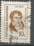 Sellos de America - Argentina -  INTERCAMBIO BELGRANO SCOTT 931