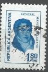 Sellos de America - Argentina -  INTERCAMBIO BELGRANO SCOTT 1037