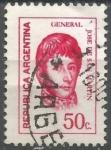 Sellos del Mundo : America : Argentina : INTERCAMBIO SAN MARTIN SCOTT 1033