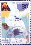 sellos de Asia - Japón -  Scott#2496 intercambio 0,40 usd  80 y. 1995