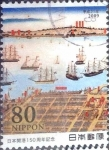 Stamps of the world : Japan :  Scott#3121a intercambio 0,60 usd  80 y. 2009
