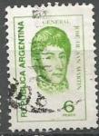 Sellos del Mundo : America : Argentina : INTERCAMBIO SAN MARTIN SCOTT 1043