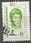 Sellos de America - Argentina -  INTERCAMBIO SAN MARTIN SCOTT 1043