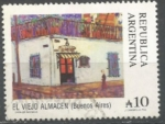 Sellos de America - Argentina -  EL VIEJO ALMACEN INTERCAMBIO SCOTT 1618 A ( 0.50 u$s)